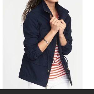 Old Navy Blue field utility jacket coat